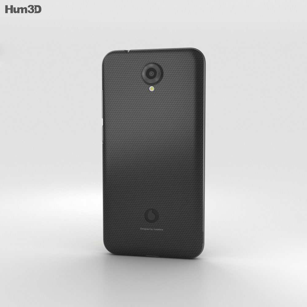 Vodafone Smart Prime 7 Graphite Black 3d model