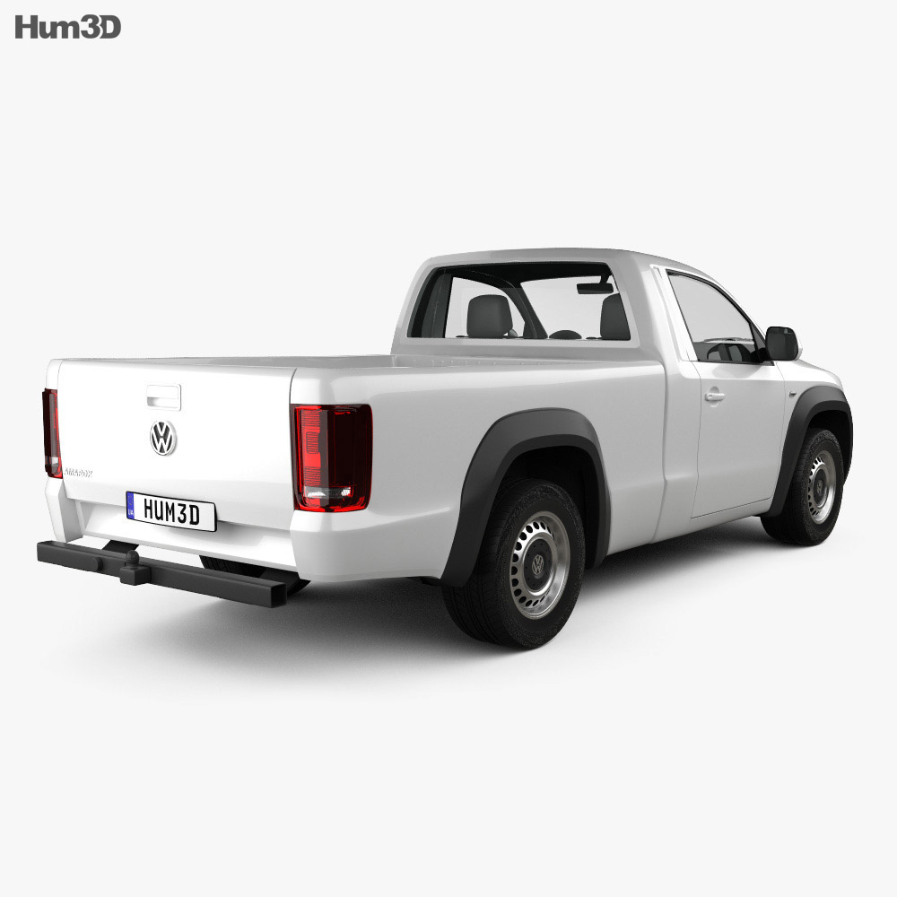 volkswagen amarok single cab 2010 3d model vehicles on hum3d. Black Bedroom Furniture Sets. Home Design Ideas