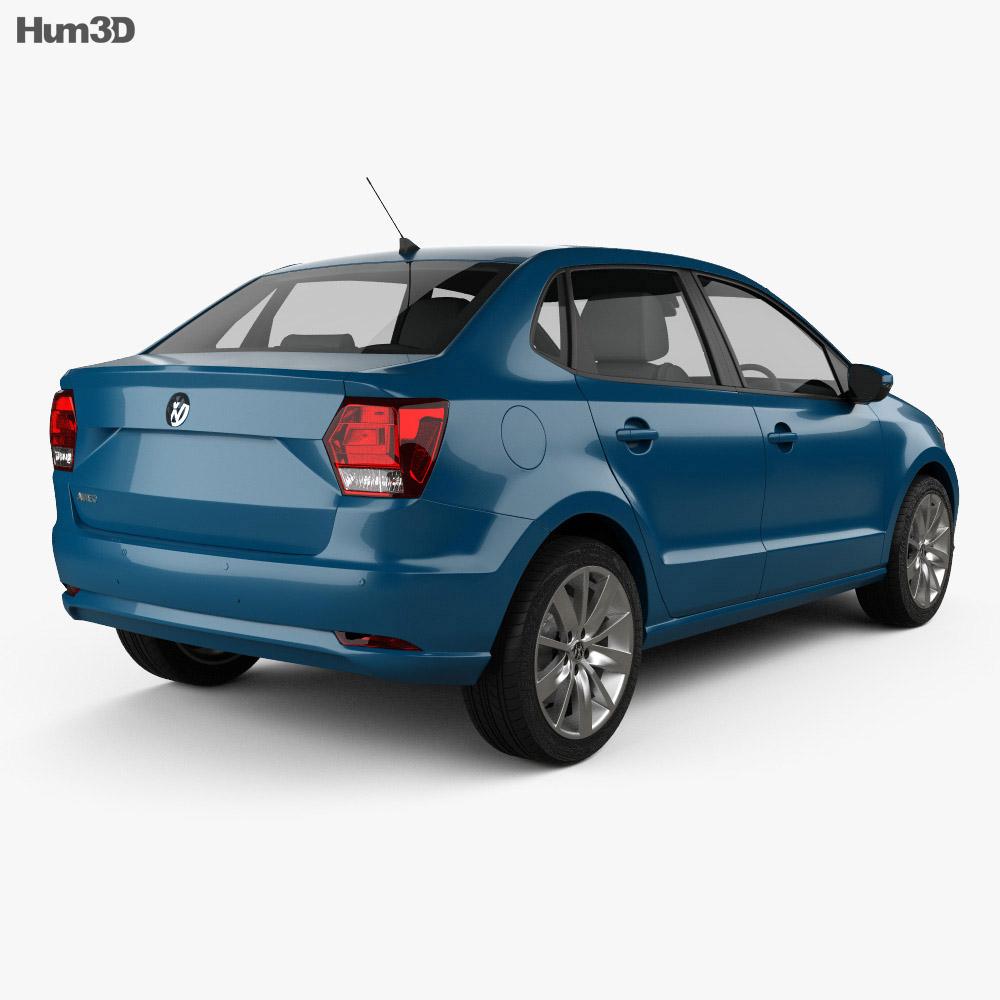 Volkswagen Ameo 2016 3d model