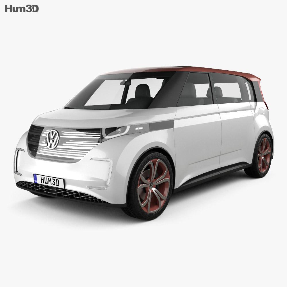 Volkswagen BUDD-e 2016 3d model