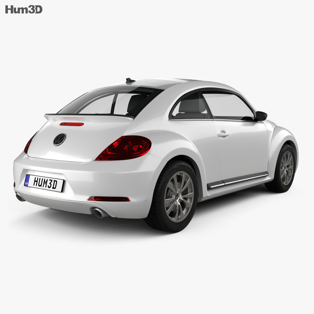 Volkswagen Beetle 2012 3d model