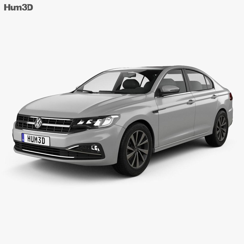 Volkswagen Bora 2019 3d model