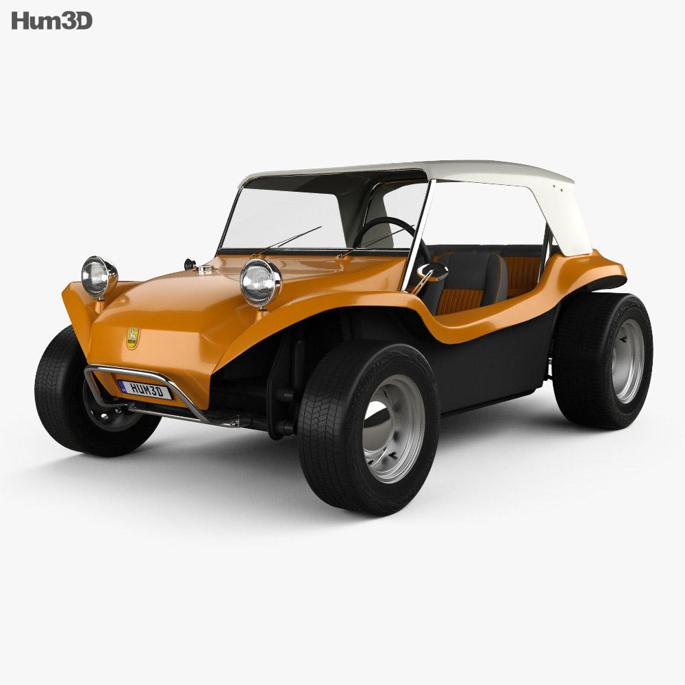 Volkswagen Buggy Meyers Manx 1965 3d model
