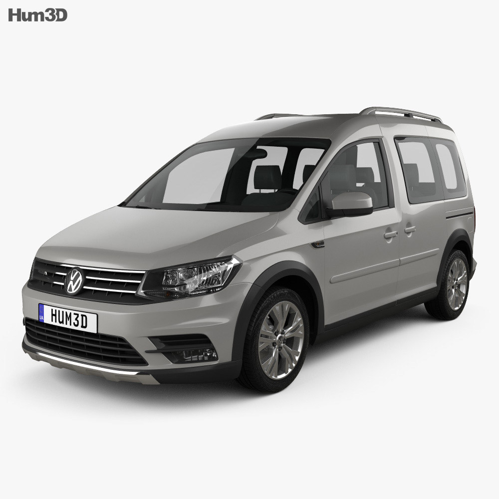 volkswagen caddy alltrack 2016 3d model hum3d. Black Bedroom Furniture Sets. Home Design Ideas
