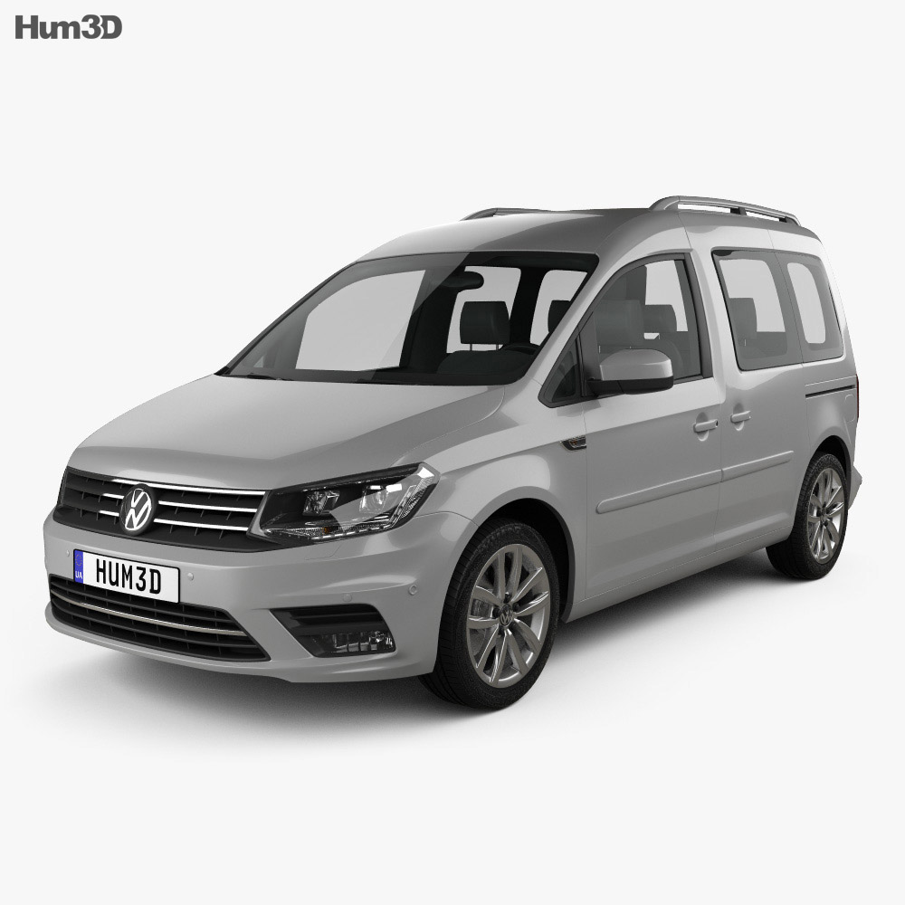 Volkswagen Caddy Highline 2015 3d model
