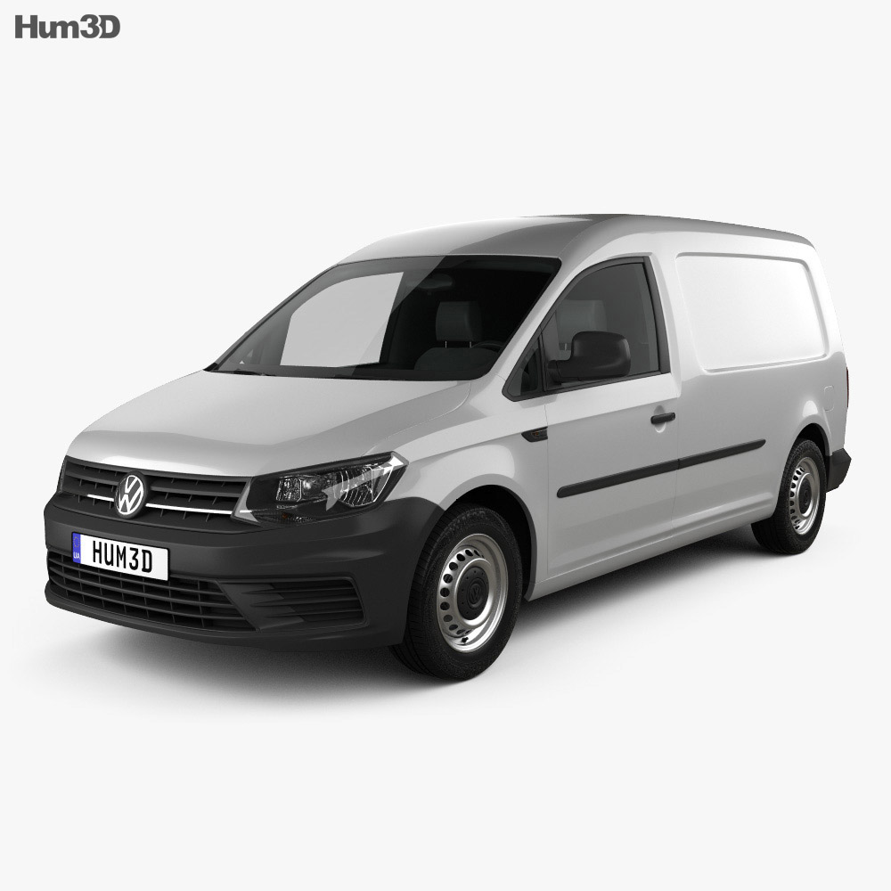 volkswagen caddy maxi panel van 2015 3d model hum3d. Black Bedroom Furniture Sets. Home Design Ideas