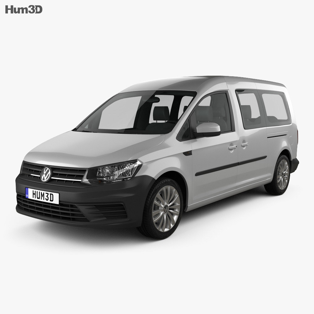 Volkswagen Caddy Maxi Trendline 2015 3d model