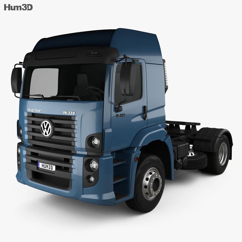 Volkswagen Constellation (19-390) Tractor Truck 2-axle 2011 3d model
