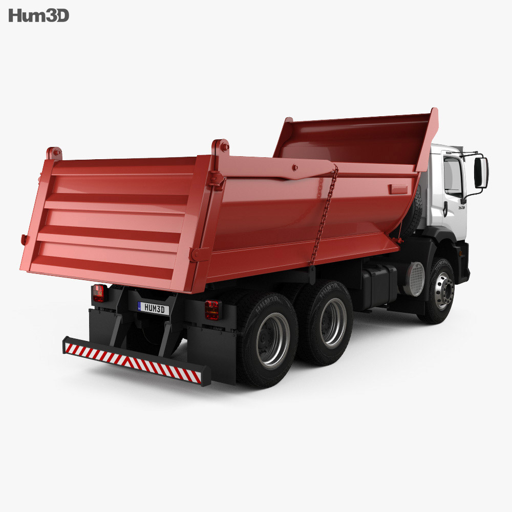 Volkswagen Constellation Tipper Truck 2011 3d model