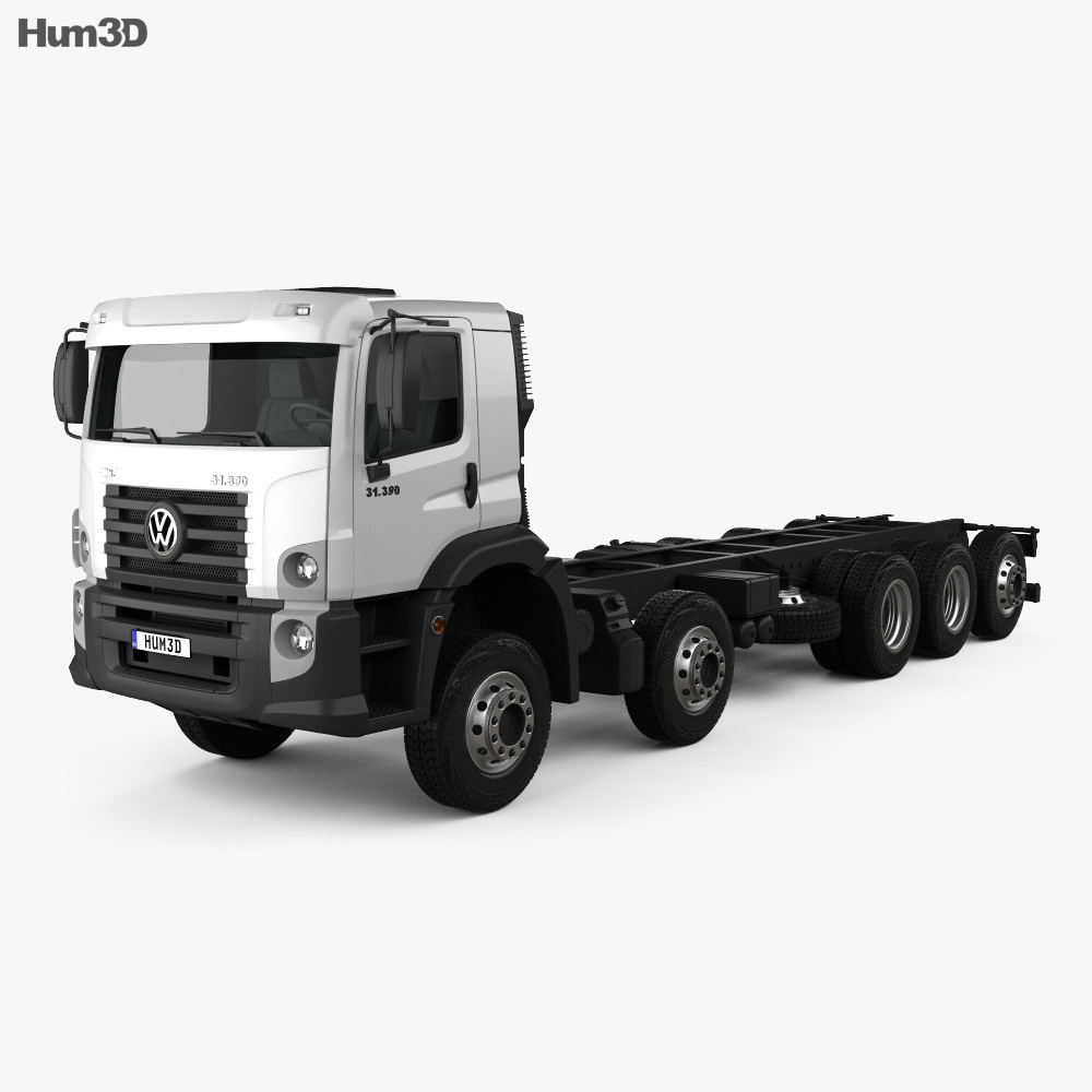 Volkswagen Constellation Chassis Truck 2013 3d model