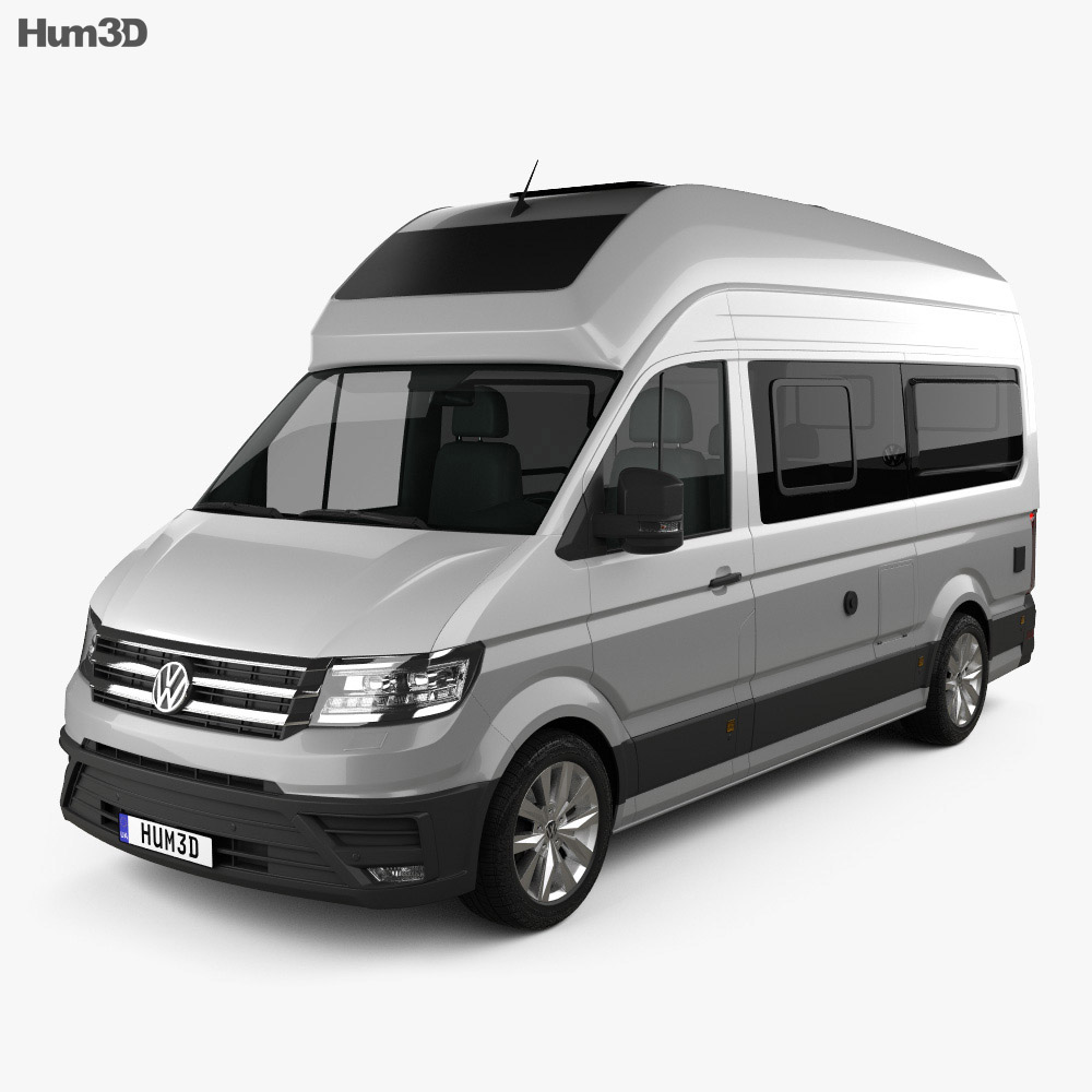 Volkswagen Crafter Grand California 600 2019 3d model
