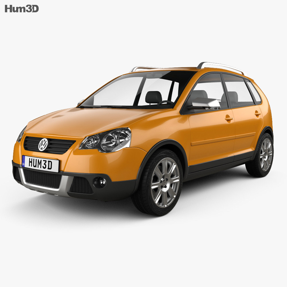 Volkswagen Cross Polo 2006 3d model