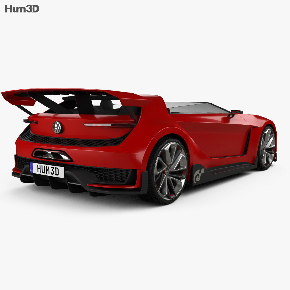 Volkswagen GTI Roadster 2014 3d model