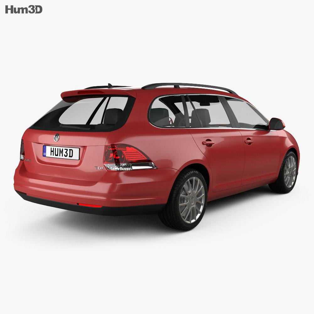 Volkswagen Golf Variant 2007 3d model