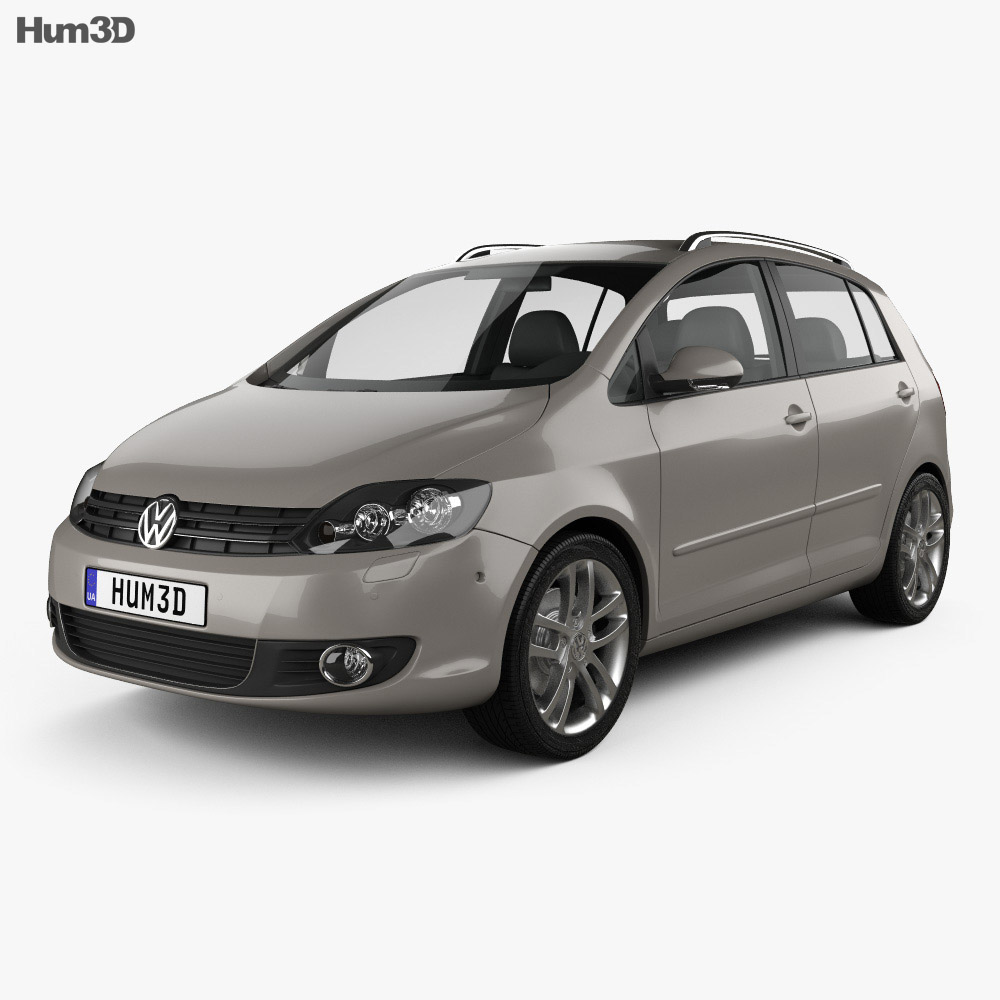 Volkswagen Golf Plus 2011 3d model