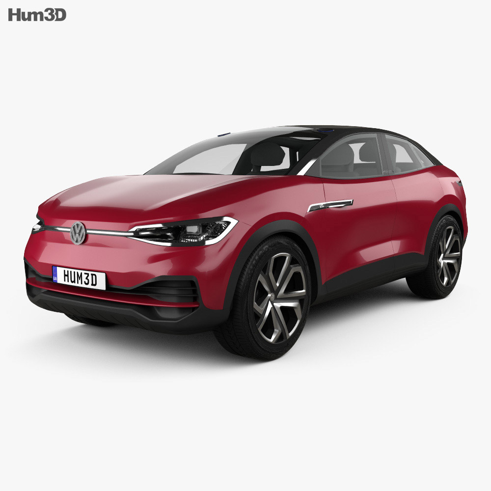 Volkswagen ID Crozz II 2017 3d model