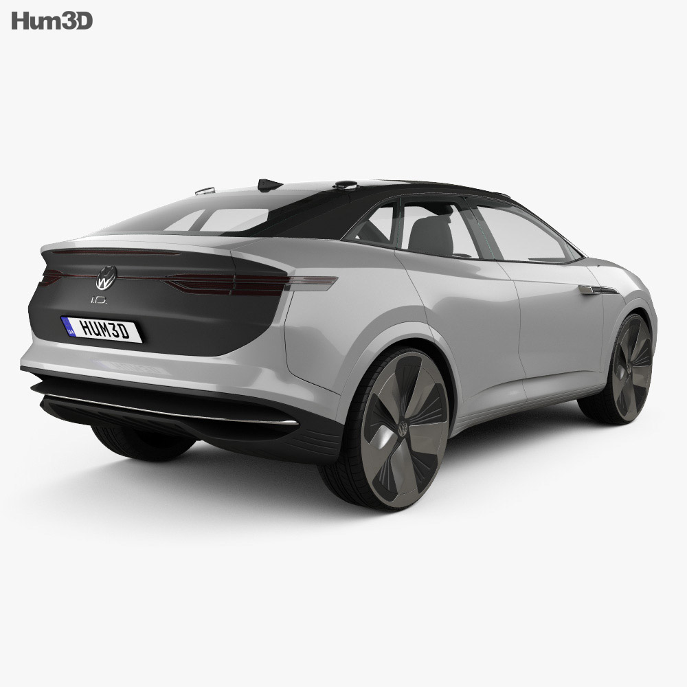 Volkswagen ID Crozz 2017 3d model