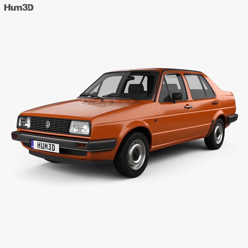 Volkswagen Jetta 1984 3d model