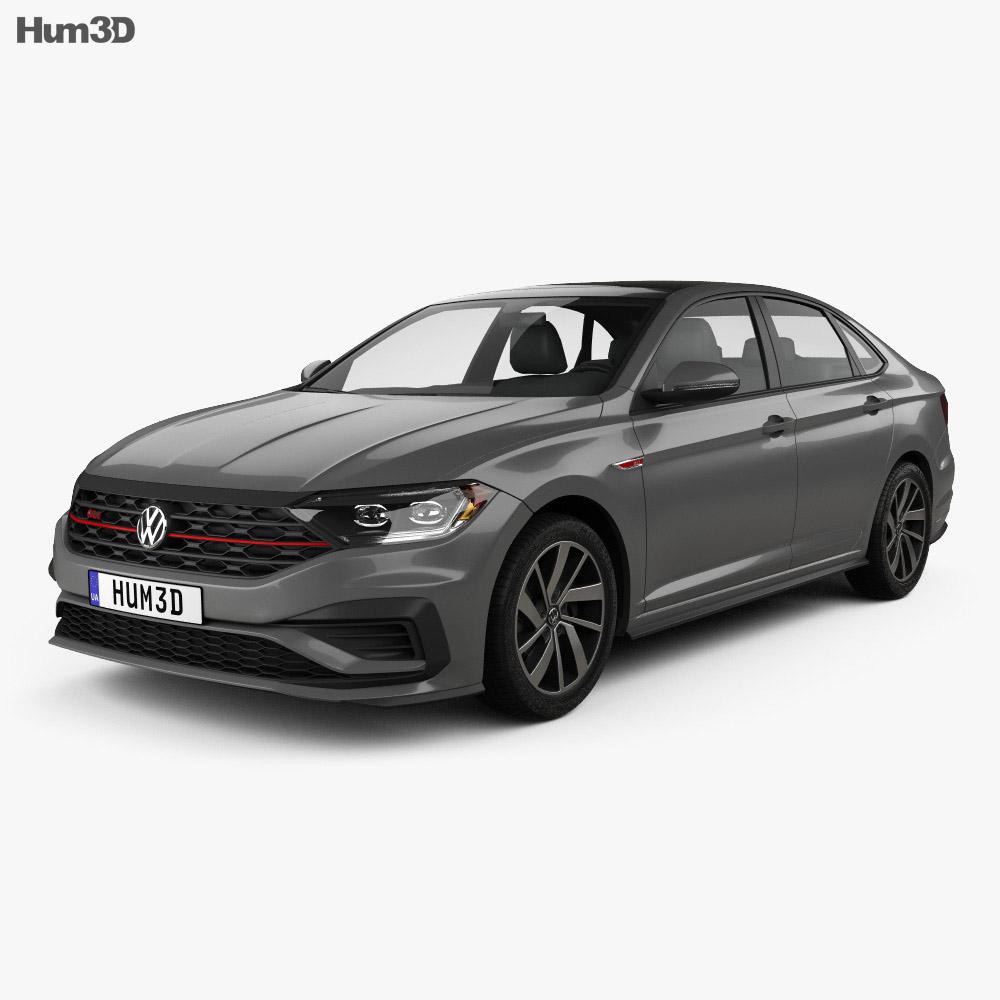 Volkswagen Jetta GLI US-spec 2018 3d model