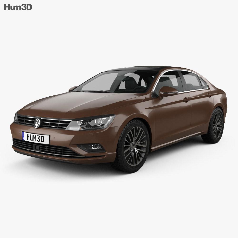 Volkswagen Lamando 2014 3d model