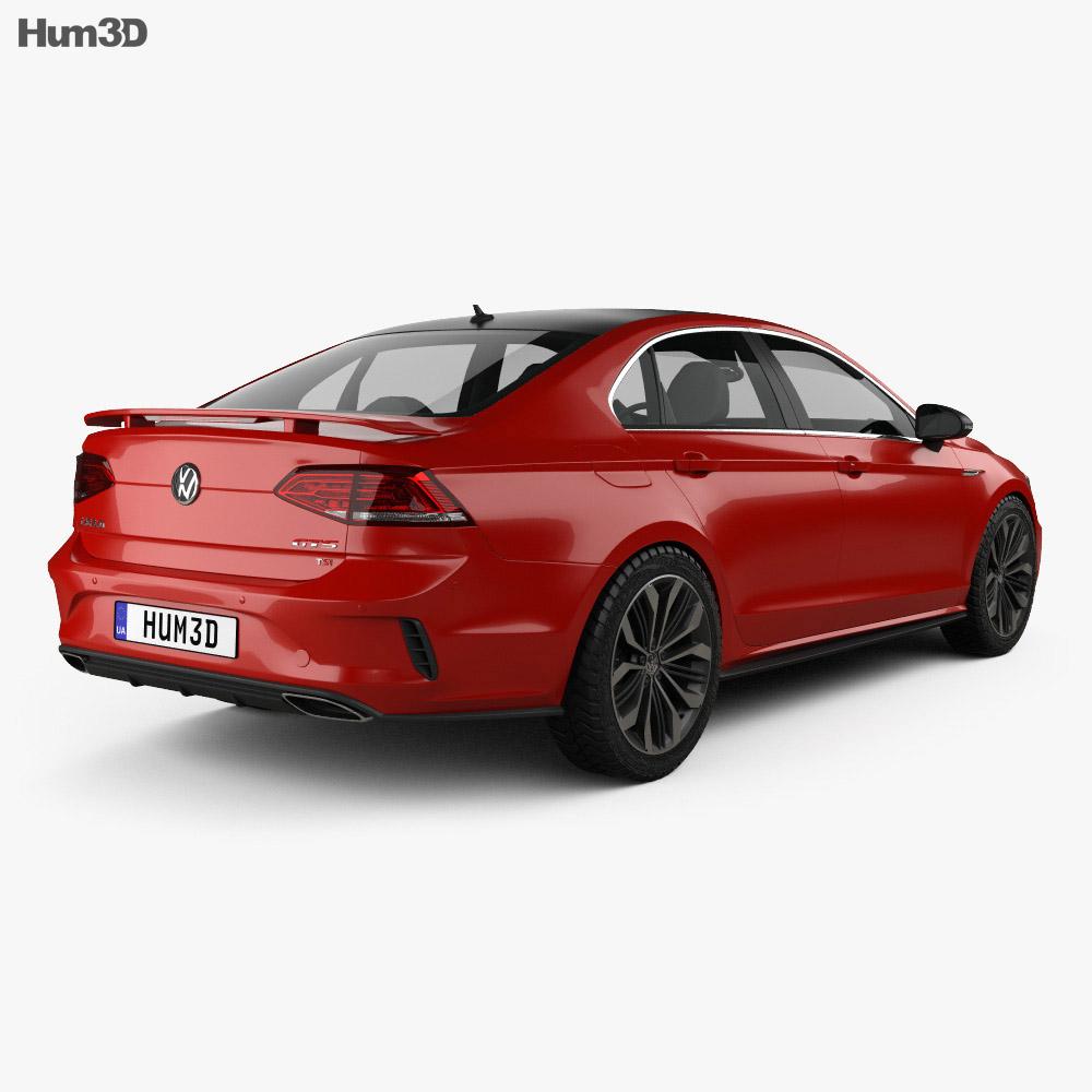 Volkswagen Lamando GTS 2016 3d model