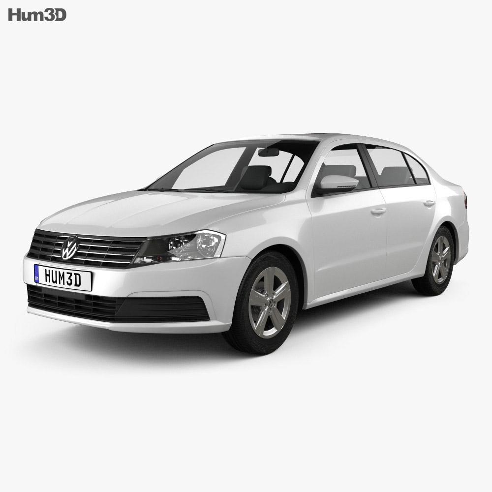 Volkswagen Lavida sedan 2015 3d model
