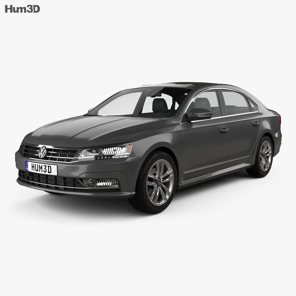 Volkswagen Passat (NMS) 2016 3d model