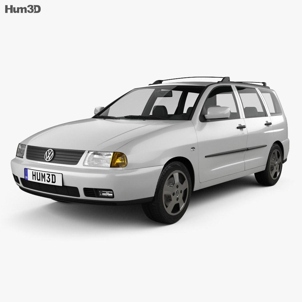 Volkswagen Polo Variant 1997 3d model