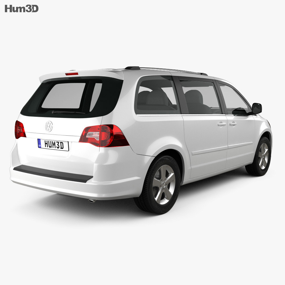 Volkswagen Routan 2012 3d model