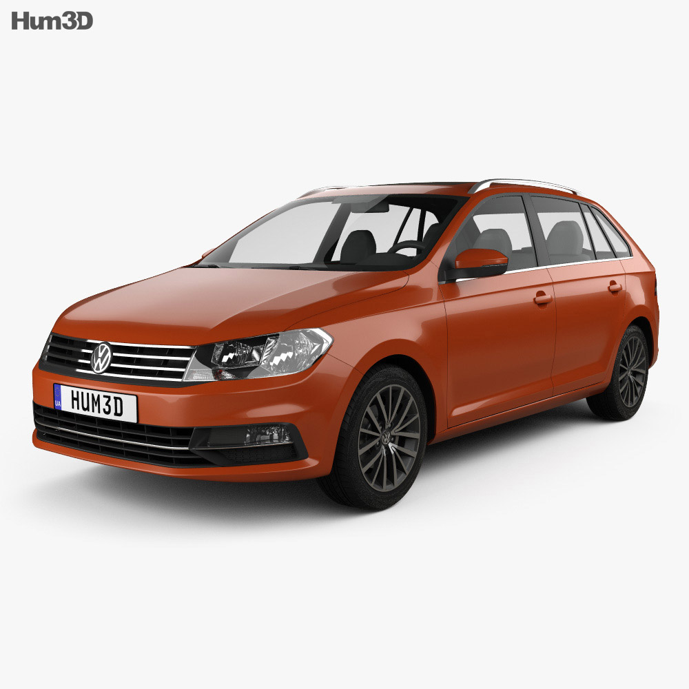 Volkswagen Gran Santana 2018 3d model