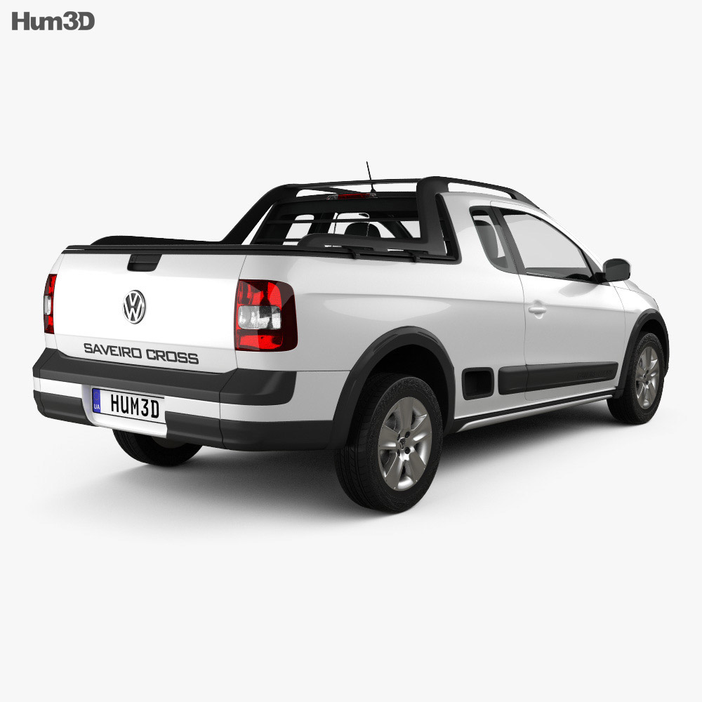 Volkswagen Saveiro Cross 2012 3d model
