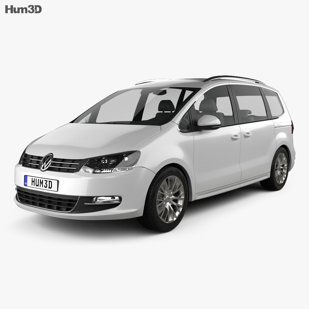 Volkswagen Sharan (Typ 7N) 2010 3d model