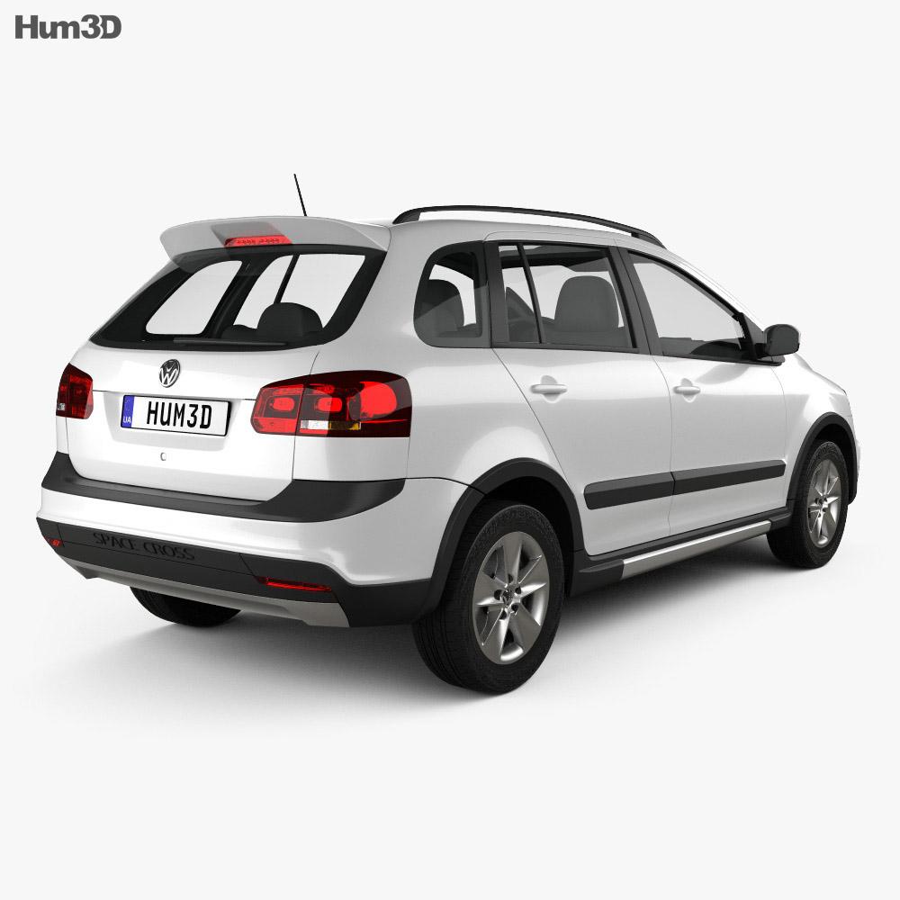 Volkswagen SpaceFox Cross (Suran) 2012 3d model
