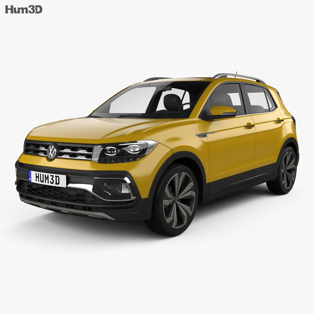 Volkswagen T-Cross 280 CN-spec 2019 3d model