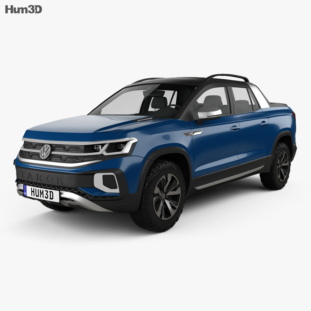 Volkswagen Tarok 2018 3d model