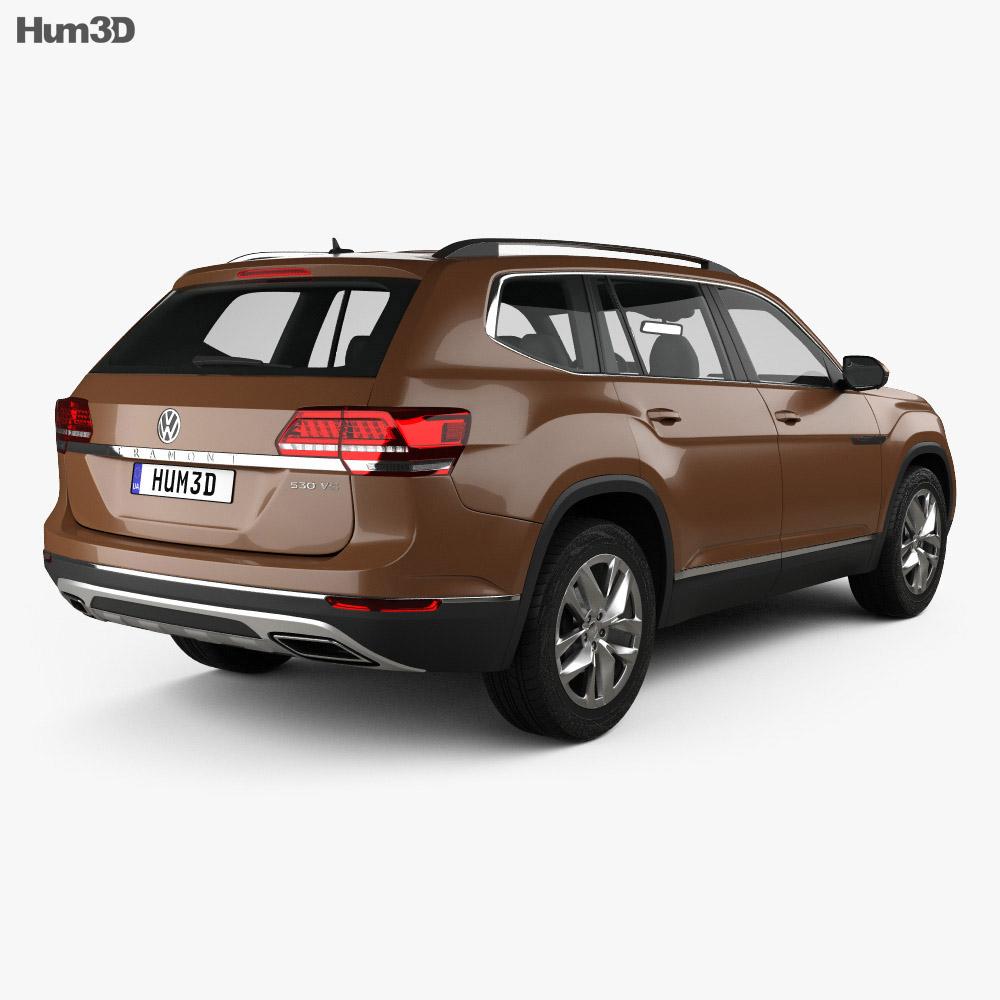 Volkswagen Teramont 2017 3d model