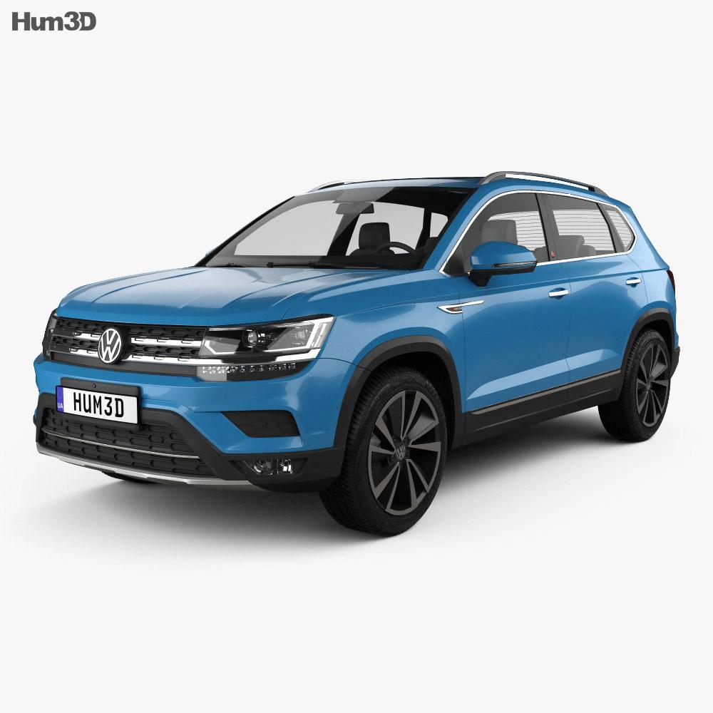 Volkswagen Tharu 2018 3d model