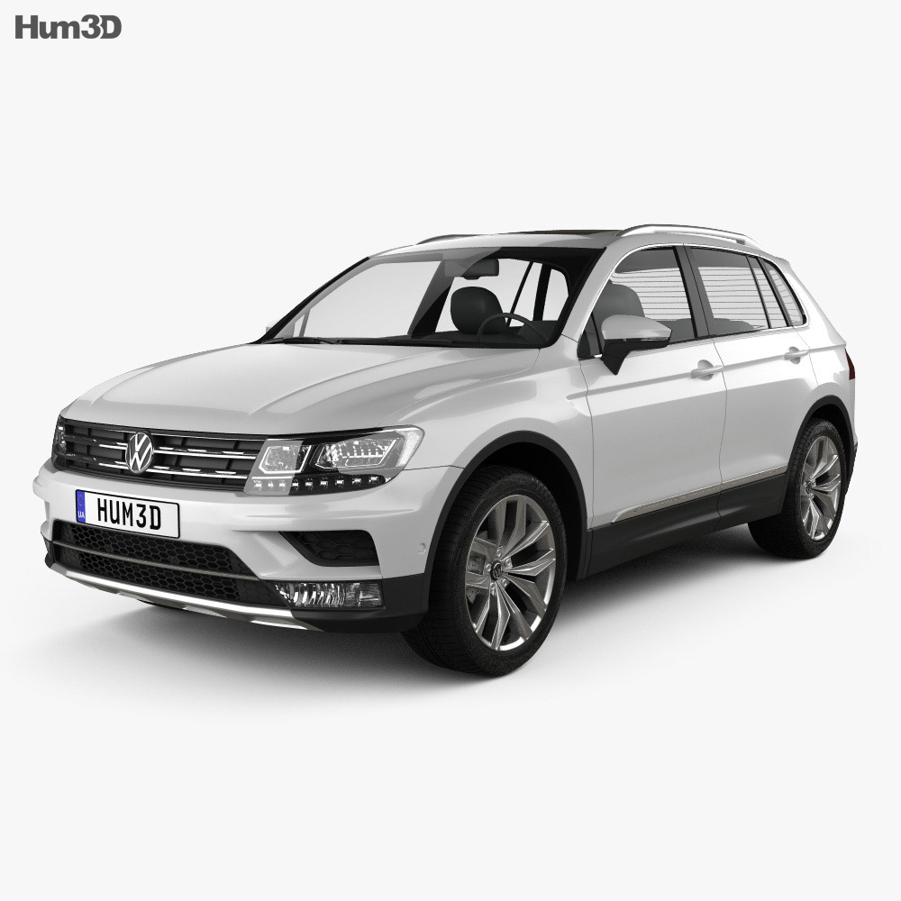 Volkswagen Tiguan Highline 2015 Modello 3D