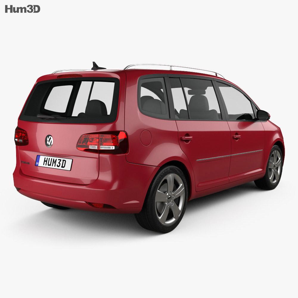 Volkswagen Touran 2011 3d model