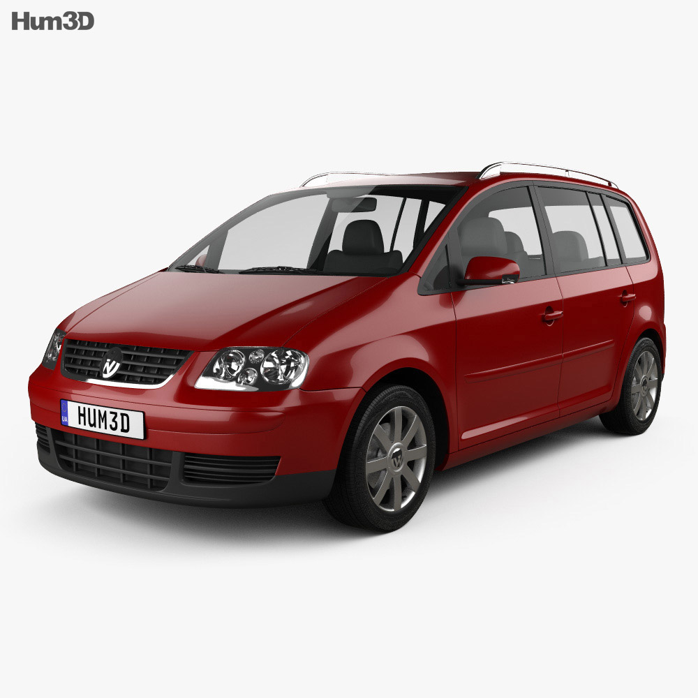 Volkswagen Touran 2003 3d model