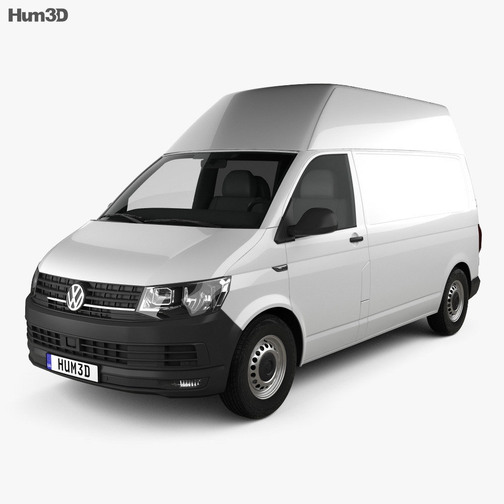 Volkswagen Transporter (T6) Panel Van High Roof 2016 3d model