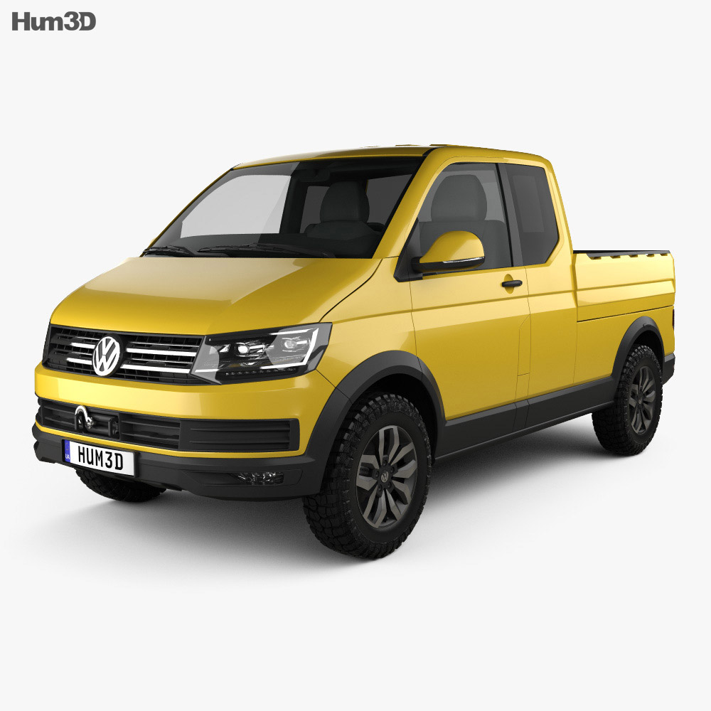 Volkswagen Tristar 2015 3d model