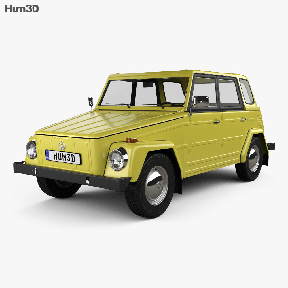 Volkswagen Type 181 1973 3d model