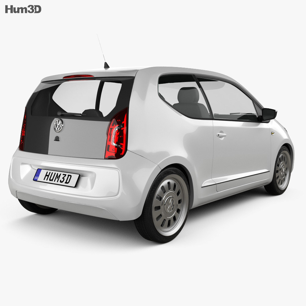 Volkswagen Up 2012 3d model