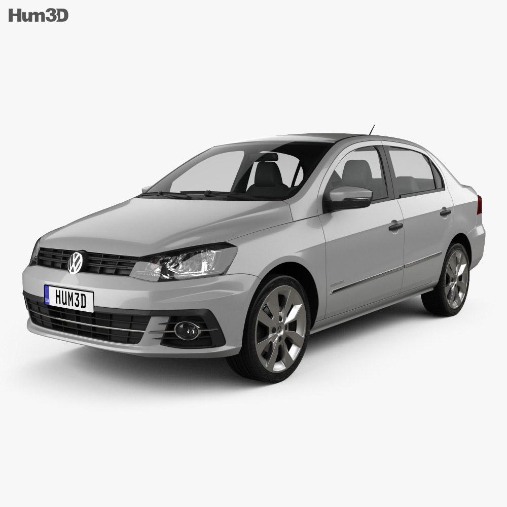 Volkswagen Voyage 2016 3d model