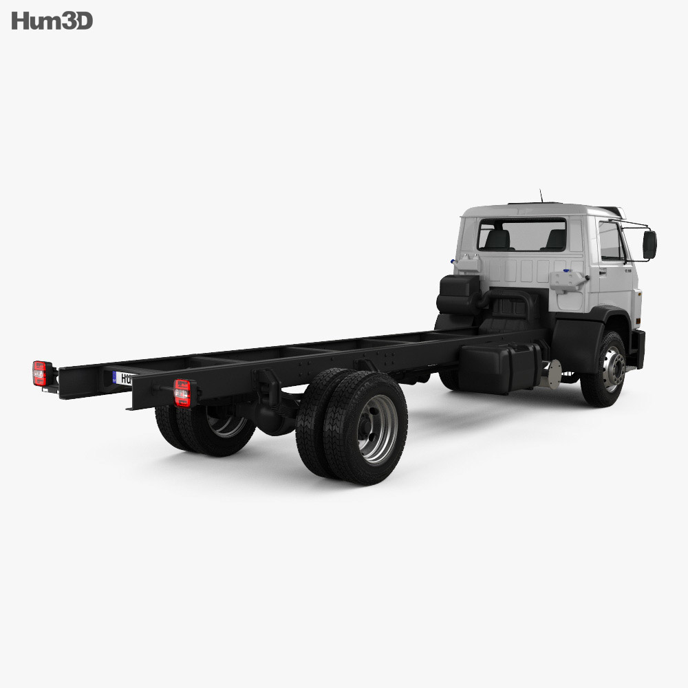 Volkswagen Worker (17-190) Chassis Truck 2-axle 2013 3d model