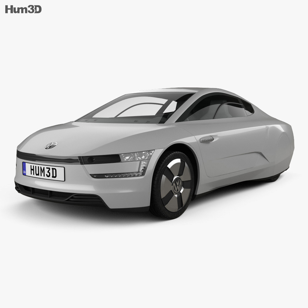 Volkswagen XL1 2013 3d model