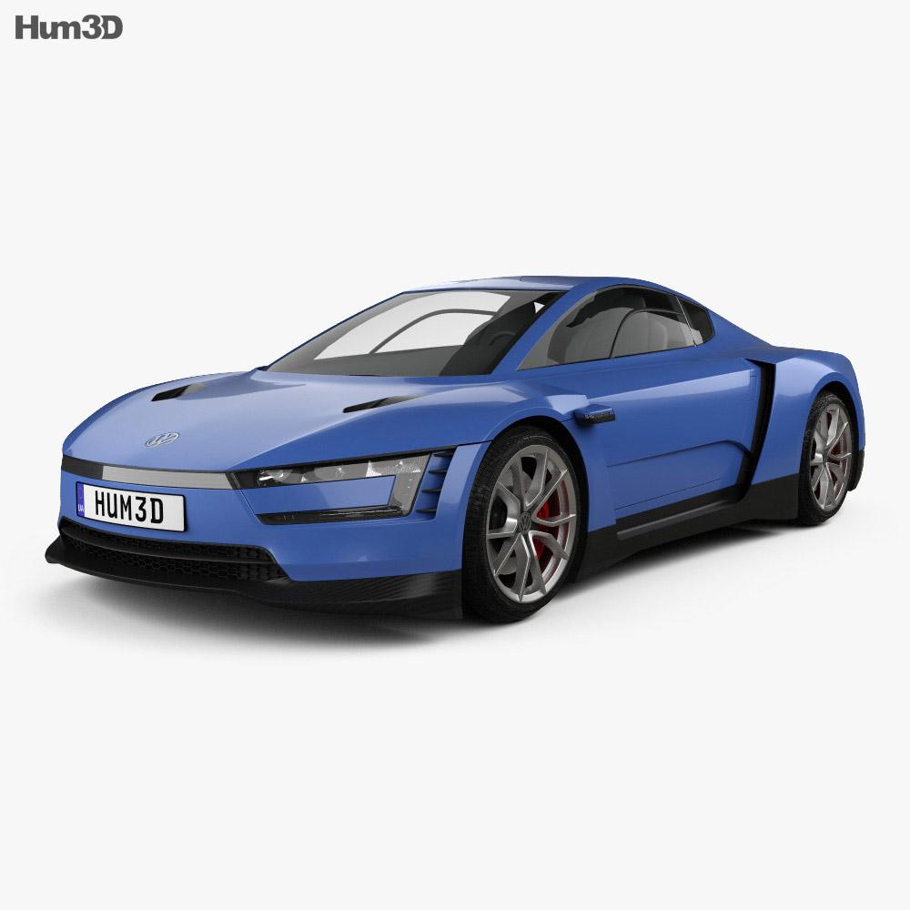 Volkswagen XL Sport 2014 3d model
