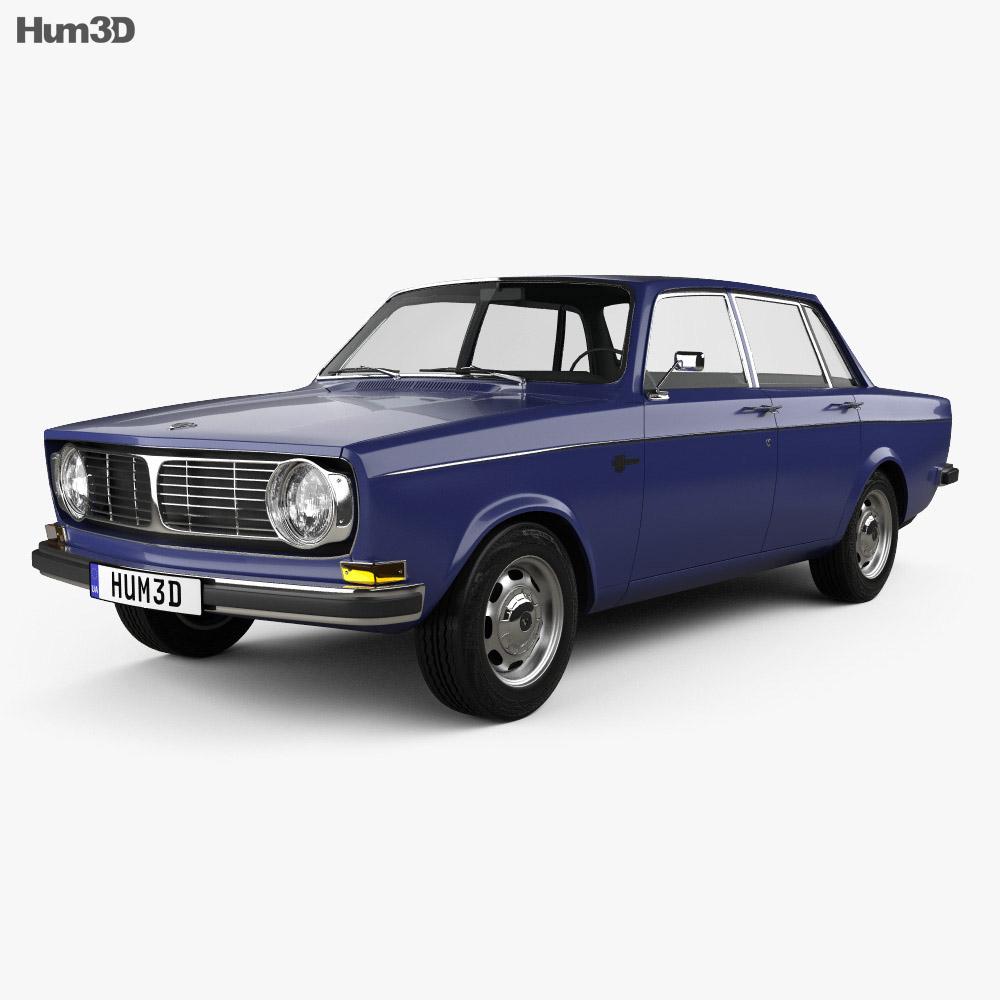 Volvo 144 sedan 1967 3d model