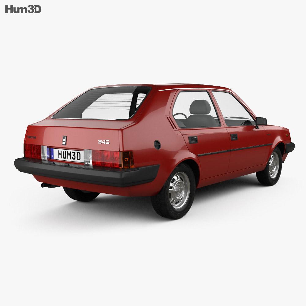 Volvo 345 5-door 1980 3d model